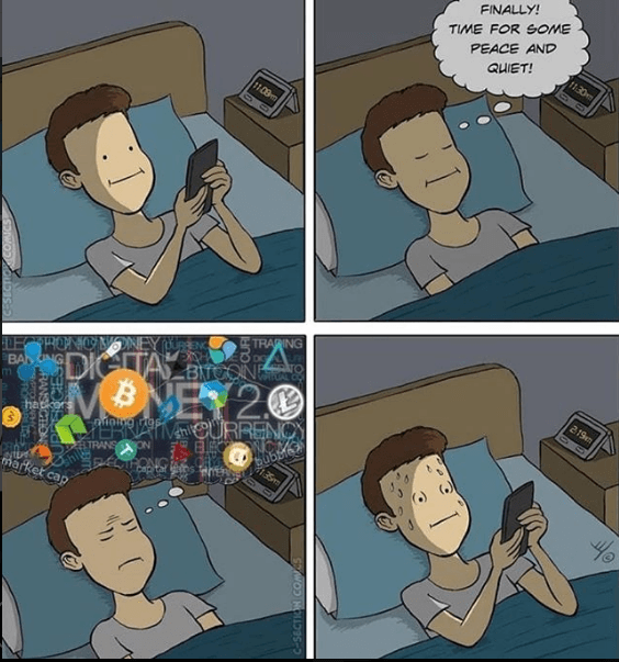 CRYPTO CAN BE STRESSFUL