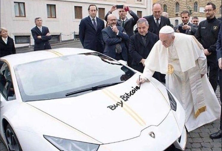 THE POPE AND BITCOIN