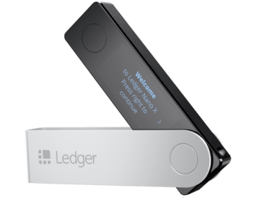 THE LEDGER NANO X