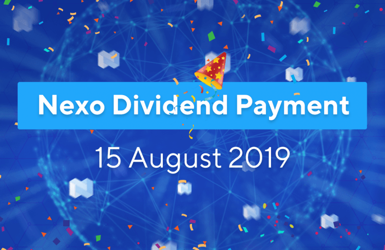 Nexo paid crypto dividends to the holders of the Nexo token