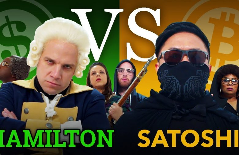 Dollar vs. Bitcoin, a humorous rap video between Satoshi Nakamoto and Hamilton