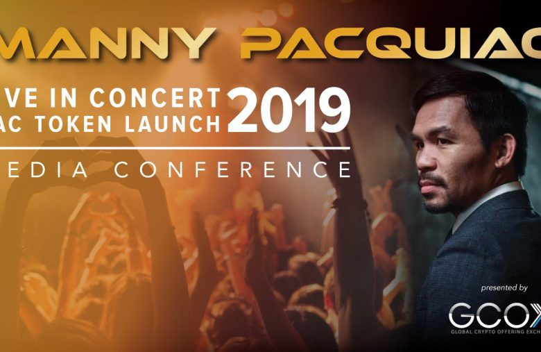 Filipino boxing champion Manny Pacquiao launches his own cryptocurrency The PAC