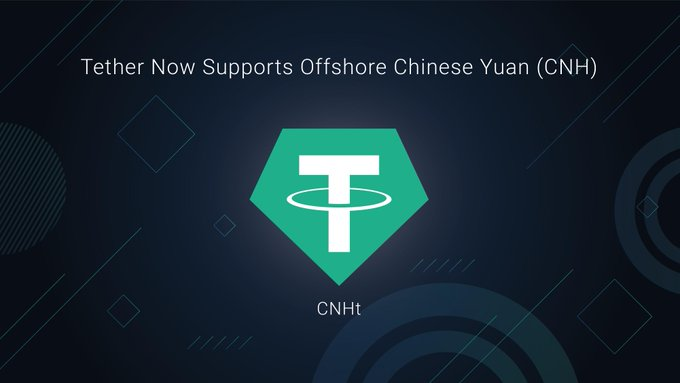 Tether launches CNHT, a new stablecoin indexed on the Chinese Yuan