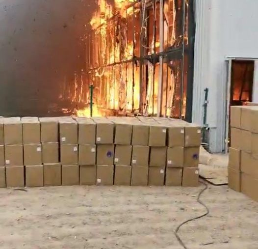 Major Chinese Bitcoin Mining Farm Gone in Smoke with $10 Million of Equipment
