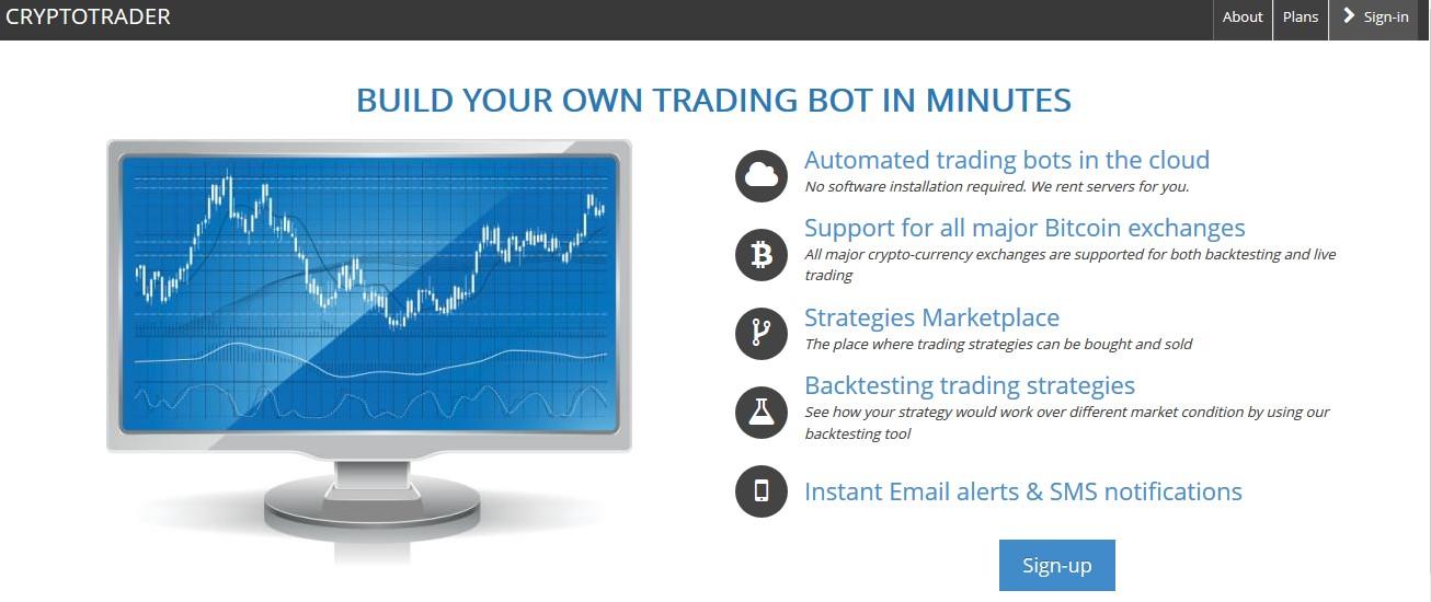 Cryptotrader bitcoin trading bot