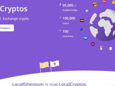 LocalEthereum switches to Bitcoin trading and is now called LocalCryptos