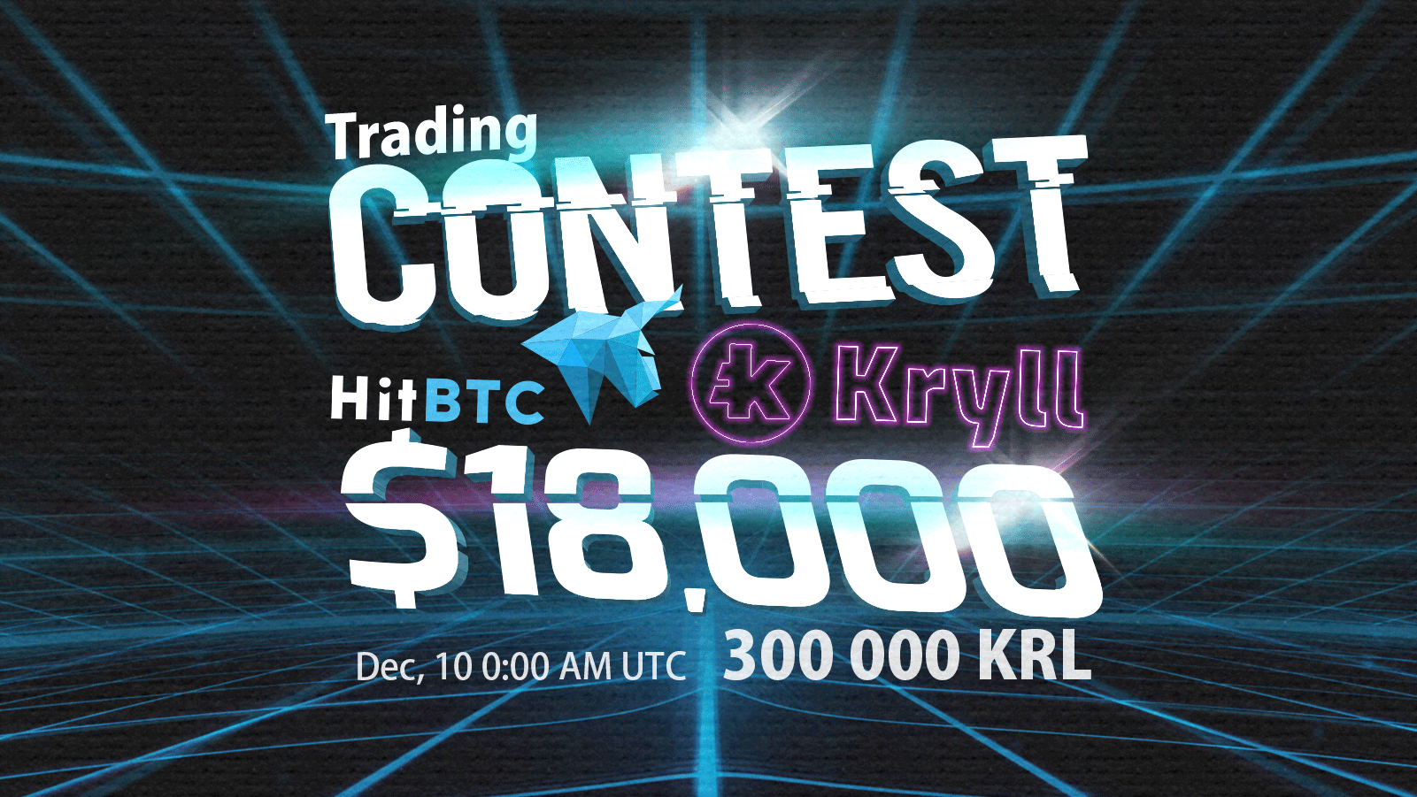 $18,000 to win in a Kryll (KRL) Trading Competition with HitBTC Crypto Exchange