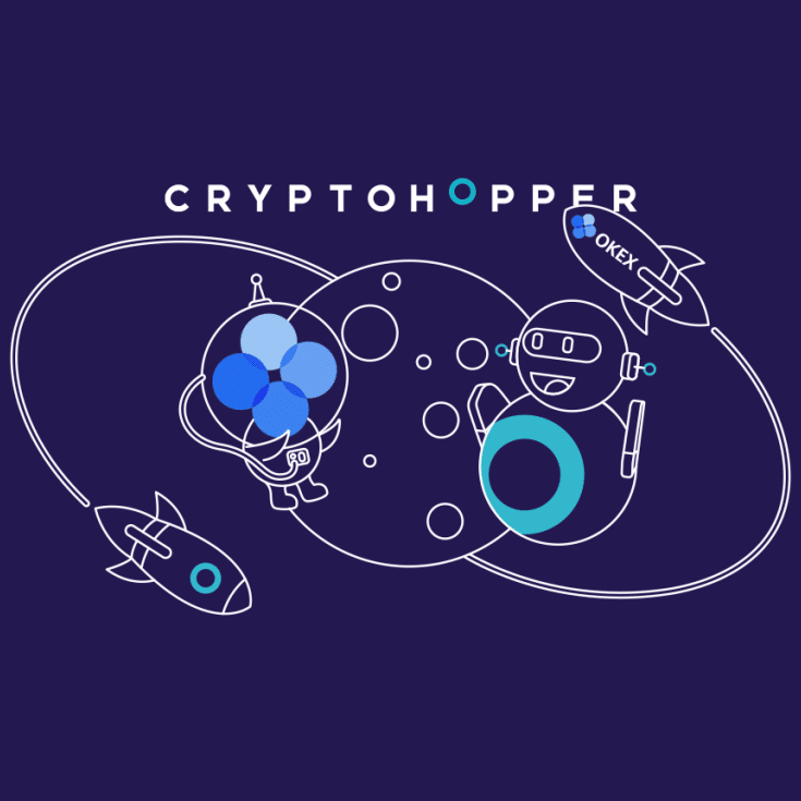 Cryptohopper crypto bot announces partnership with OKEx trading platform