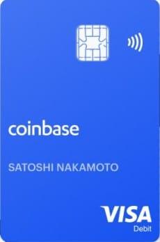 the coinbase bitcoin crypto card