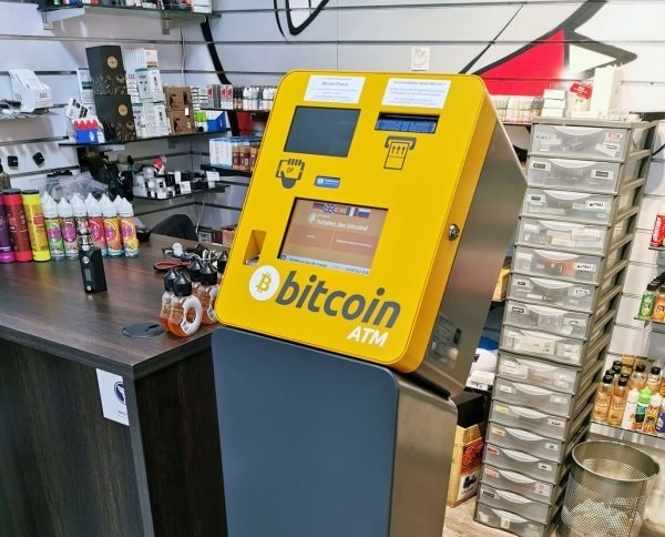 New Bitcoin ATMs in Paris