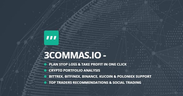 options of the 3commas crypto trading bot