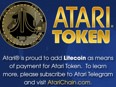 Atari will integrate Litecoin (LTC) as payment method for its token and Bitcoin casino