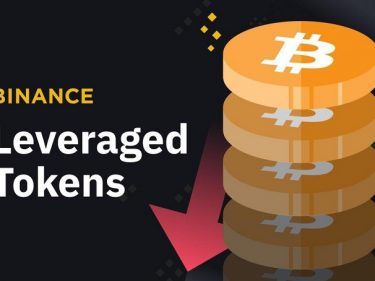 Binance will list new leveraged tokens indexed on the Bitcoin price BTCUP and BTCDOWN