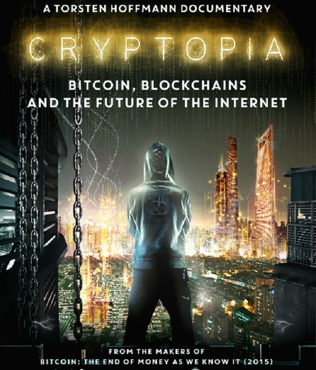 Cryptopia, the new documentary about Bitcoin and the blockchain by director Torsten Hoffmann