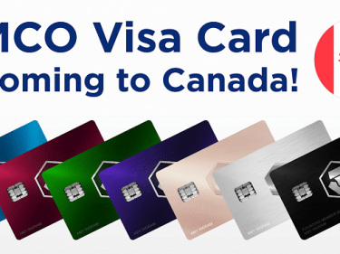 MCO Bitcoin debit card available in Canada