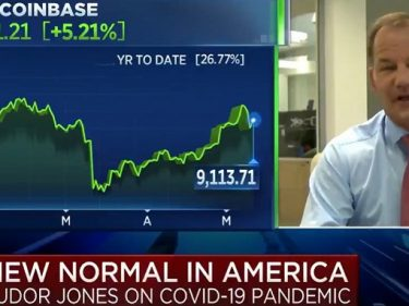 On CNBC, Billionaire Paul Tudor Jones confirms how much he invested in Bitcoin BTC