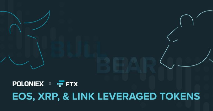 Poloniex Crypto Exchange adds New FTX Leveraged Tokens