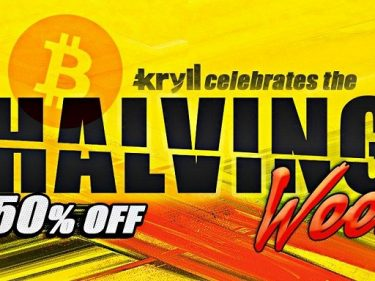 To celebrate Bitcoin halving, Kryll offers 50% discount on its crypto trading bots fees