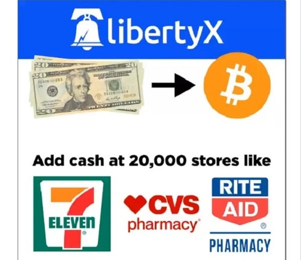The LibertyX mobile application allows you to buy Bitcoin at 7-Eleven in the United States