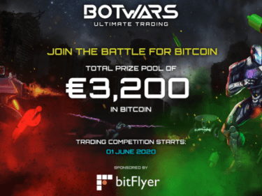 bitFlyer and Quazard organize a trading competition with Botwars game crypto trading bots