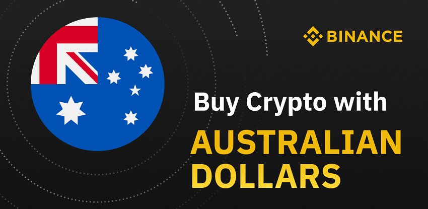 Binance Australia allows aussies to buy Bitcoin BTC with australian dollars AUD