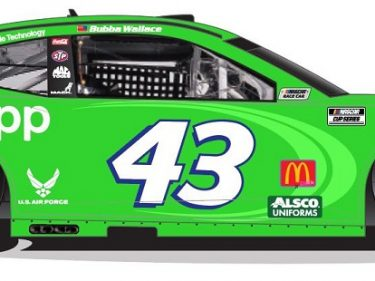 Jack Dorsey and his Bitcoin Cash App sponsor a NASCAR race car