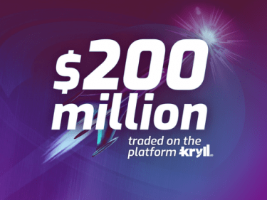 Kryll passes $200 million traded through its crypto trading bots