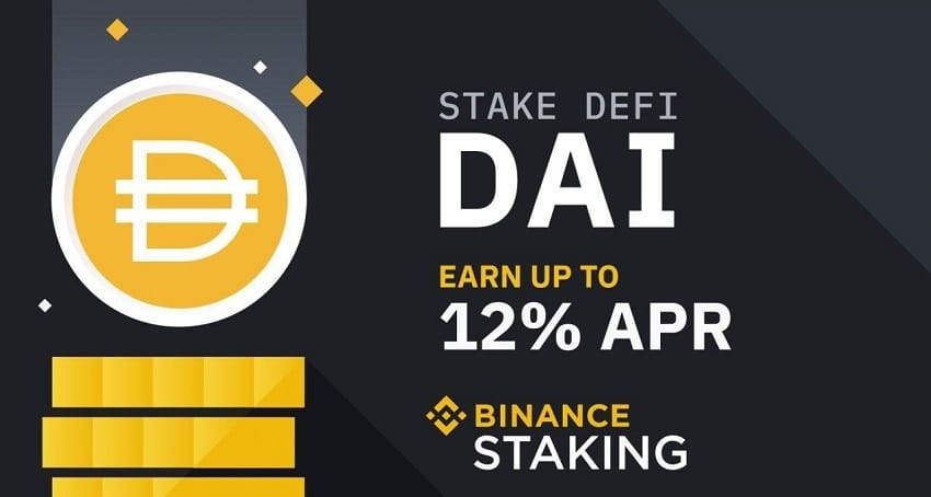 Binance launches DeFi staking with DAI token