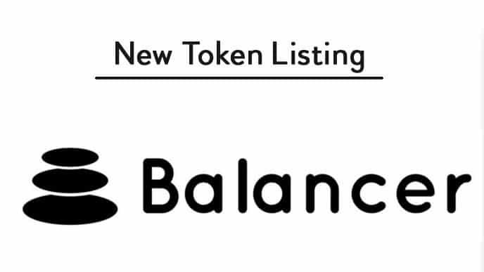 Binance lists a new DeFi token Balancer (BAL)