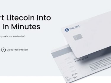 Litecoin launches LTC crypto debit card