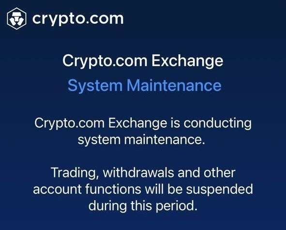 Crypto.com inaccessible due to a technical problem which caused the Ethereum price to rise to 79,000 dollars!
