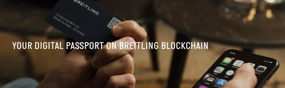 Arianee, Breitling will provide a blockchain digital passport with its luxury watches