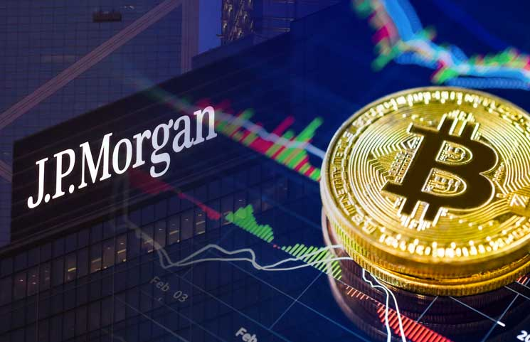 JP Morgan bank compares Bitcoin to gold as an alternative investment opportunity