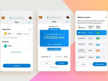 MetaMask crypto wallet now allows the swap of Ethereum and ERC20 tokens directly in its application