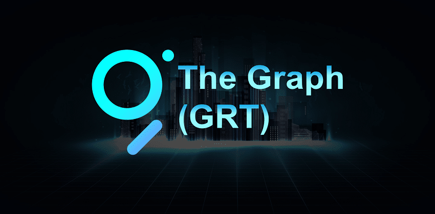 The Graph (GRT) cryptocurrency listed on Binance, Coinbase and Kraken