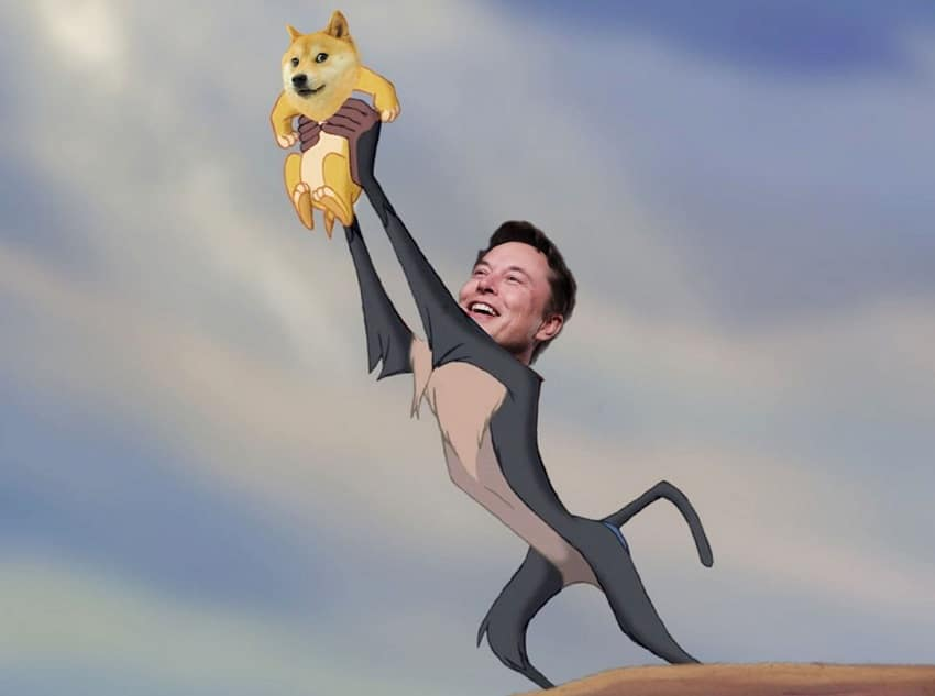 Elon Musk removes Bitcoin from his Twitter account and talks about Dogecoin (DOGE) again