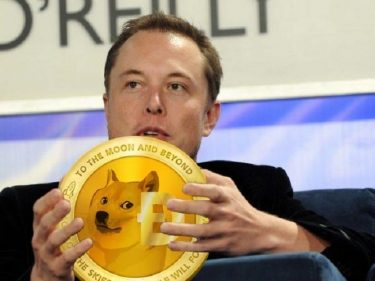 Tesla CEO Elon Musk bought Dogecoin for his baby