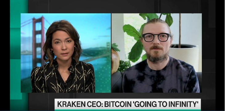 Kraken CEO Predicts Million Dollar Bitcoin BTC Price But Not Right Now