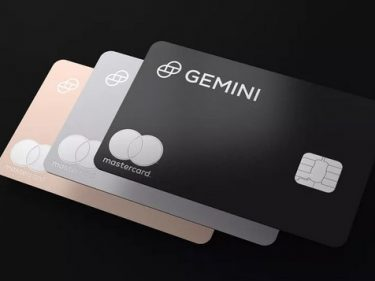 Gemini partners with Mastercard to launch crypto cashback credit card