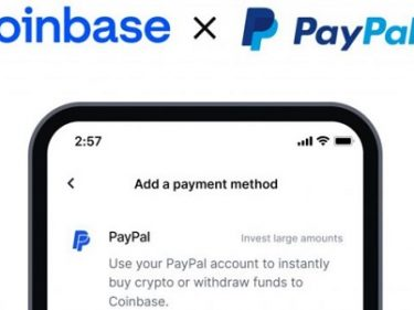 Coinbase now allows Bitcoin to be purchased with PayPal