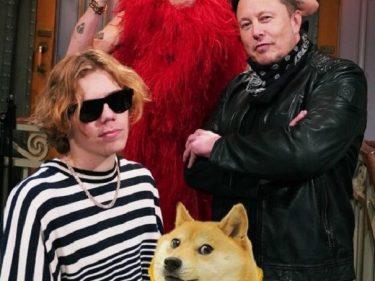 Elon Musk on Saturday Night Live, Dogecoin (DOGE) price drops