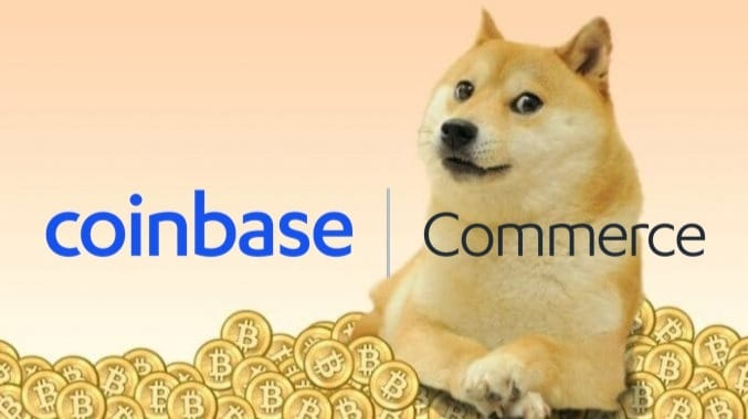 Adoption of Dogecoin as a means of payment Coinbase Commerce integrates DOGE cryptocurrency