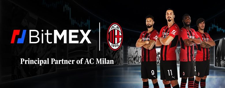 BitMEX becomes one of the main sponsors of AC Milan football club