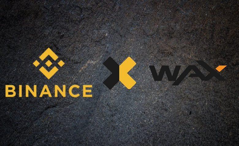 Binance has added WAX (WAXP)